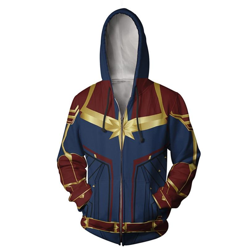 Sudadera de Capitana Marvel 8