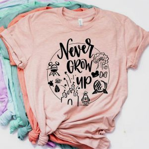 Disney Lovers t-shirt never grow up!