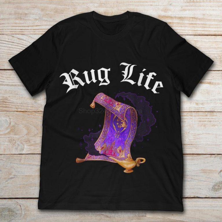 Camiseta de alfombra de Aladdin
