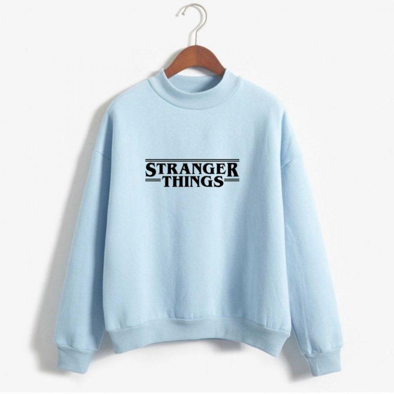 Sudadera blanca Stranger Things Netflix 2
