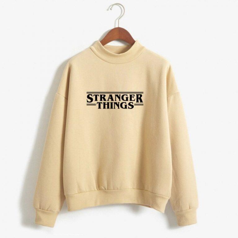 Sudadera blanca Stranger Things Netflix 1