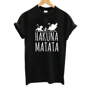 Hakuna Matata T-Shirt The Lion King