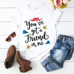 T-shirt There's a friend in me Toy Story