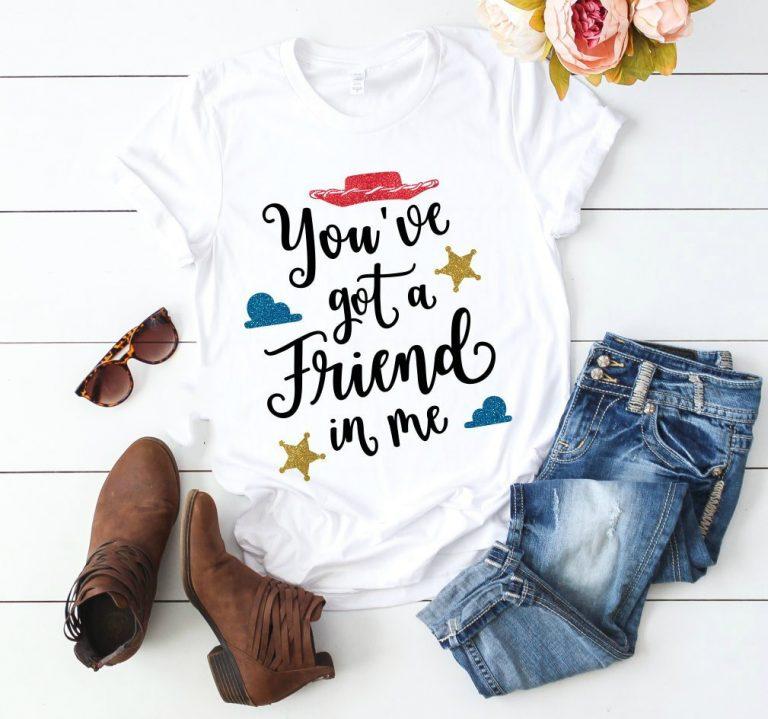 Camiseta Hay un amigo en mí Toy Story