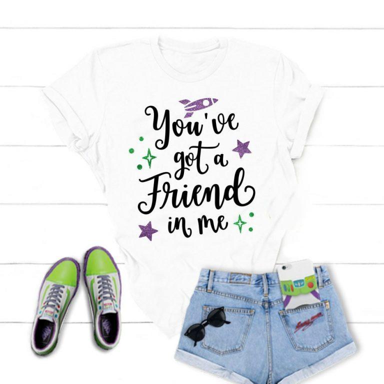 Camiseta Hay un amigo en mí Toy Story 1