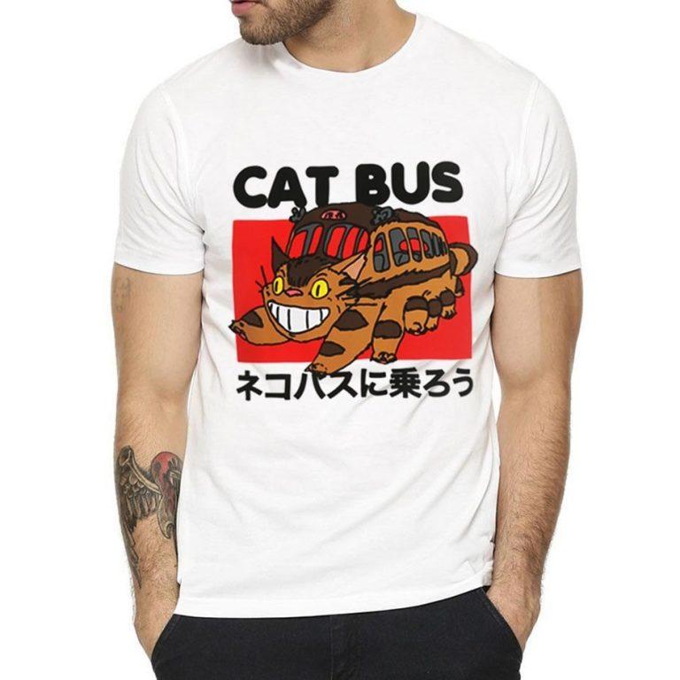 Totoro Gatobus unisex T-shirt 1