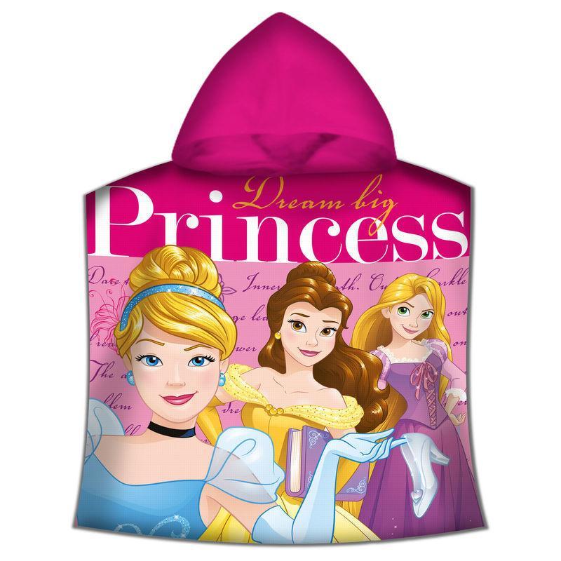 Poncho toalla Princesas Disney