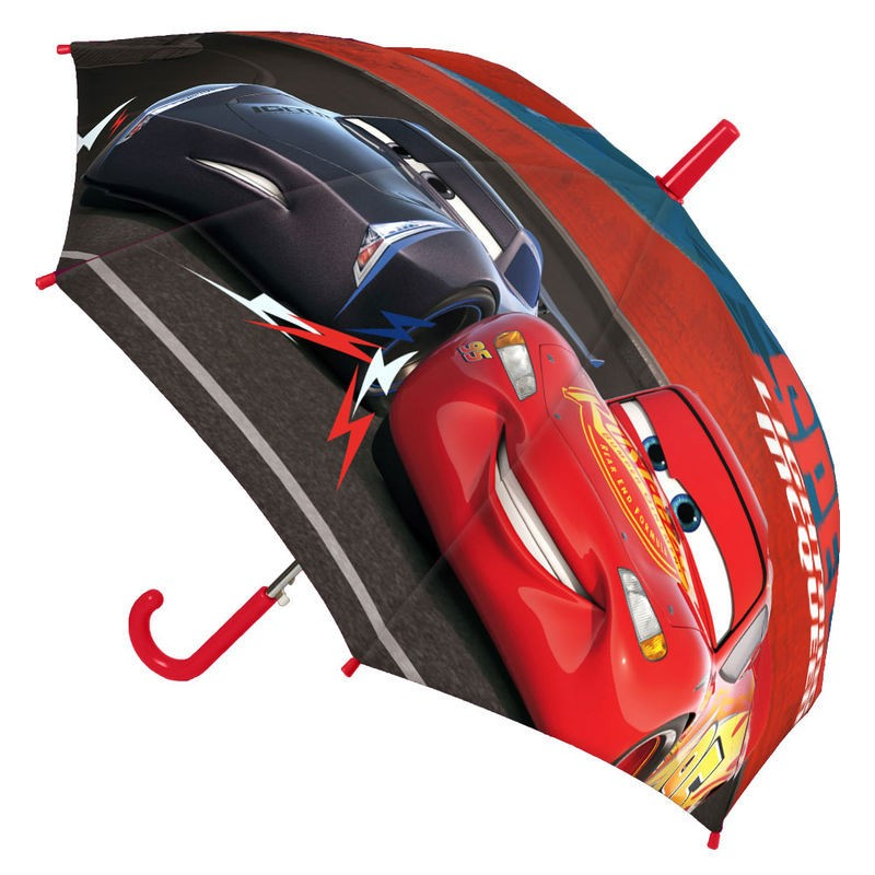 Paraguas automatico Cars 3 Disney premium 45cm surtido