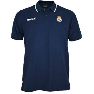 Polo Real Madrid blanco adulto 1