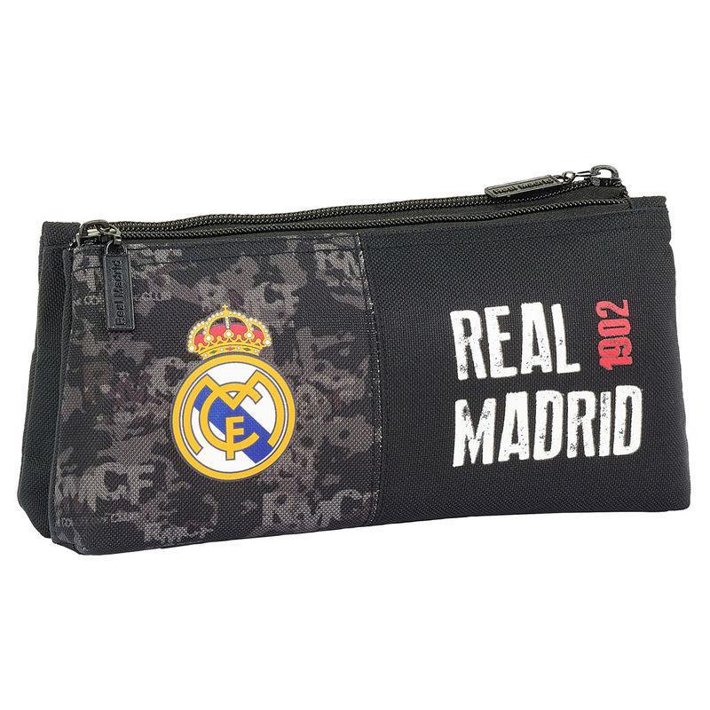 Mochila Real Madrid Black adaptable 42cm