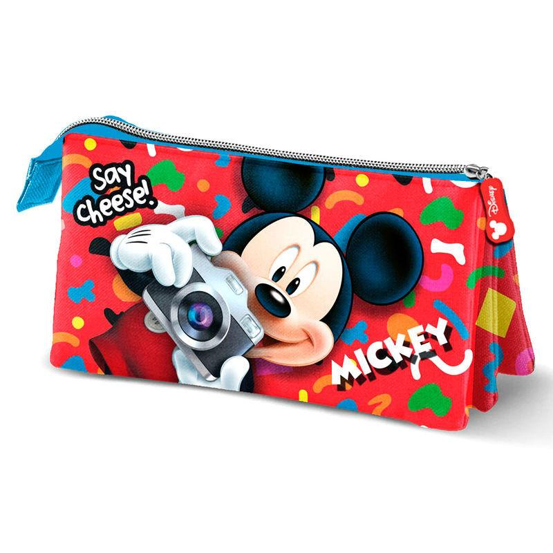 Mochila Mickey Disney Say Cheese 30cm 1