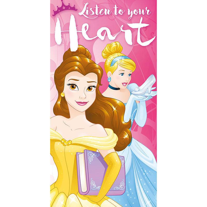 Toalla Princesas Disney Listen to your Heart algodon