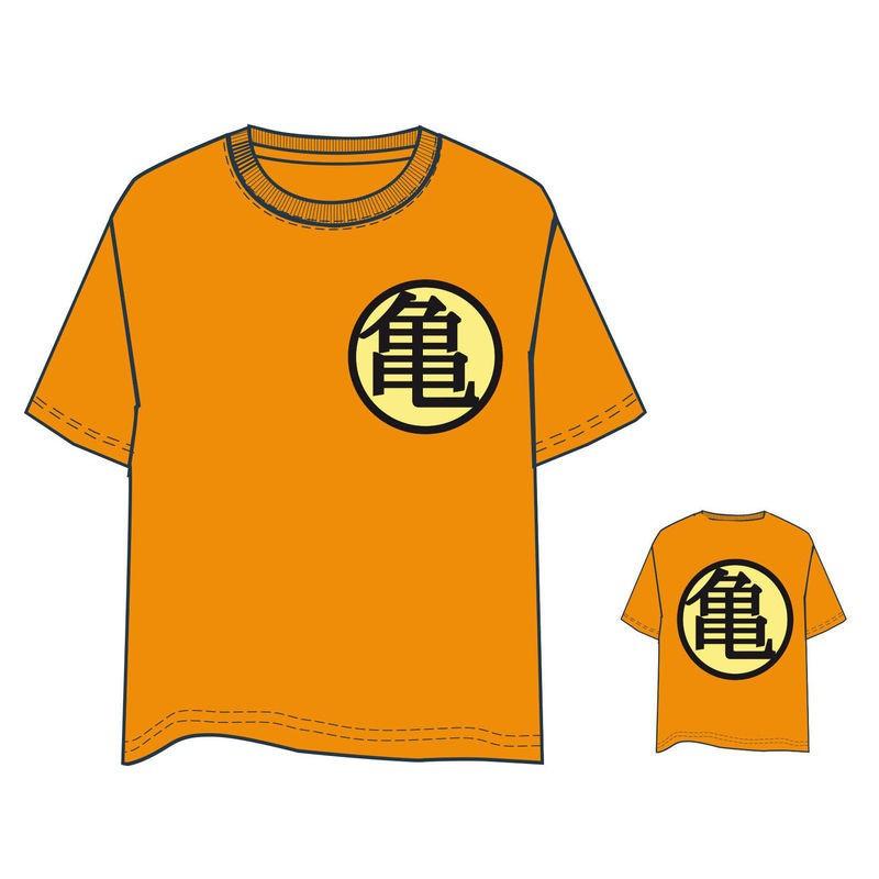 Camiseta Dragon Ball naranja adulto 1