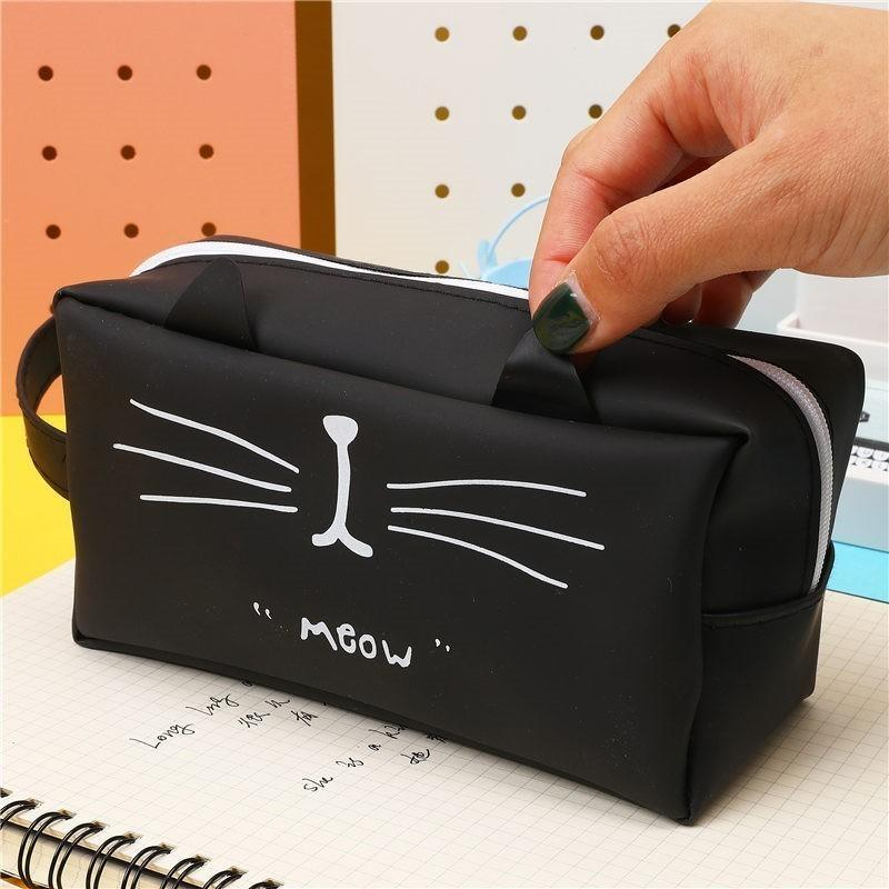 Super cute pen case.  Cat Lover item 12