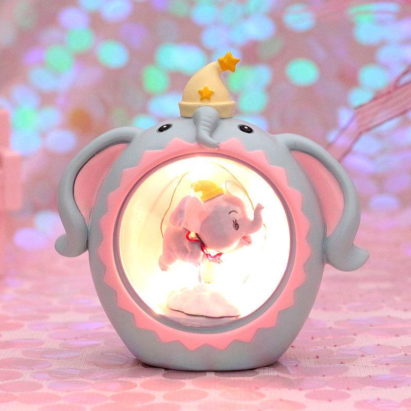 Deco lamp Dumbo Flying super cute 8