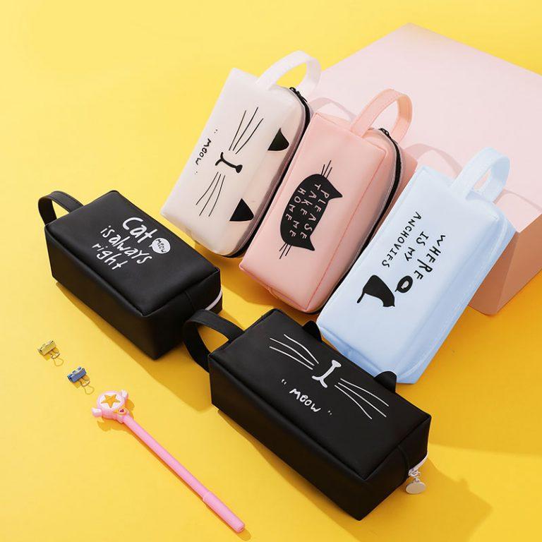 Super cute pen case.  Cat Lover item 1