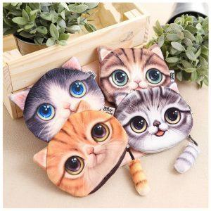 Kawaii wallet for cat lovers