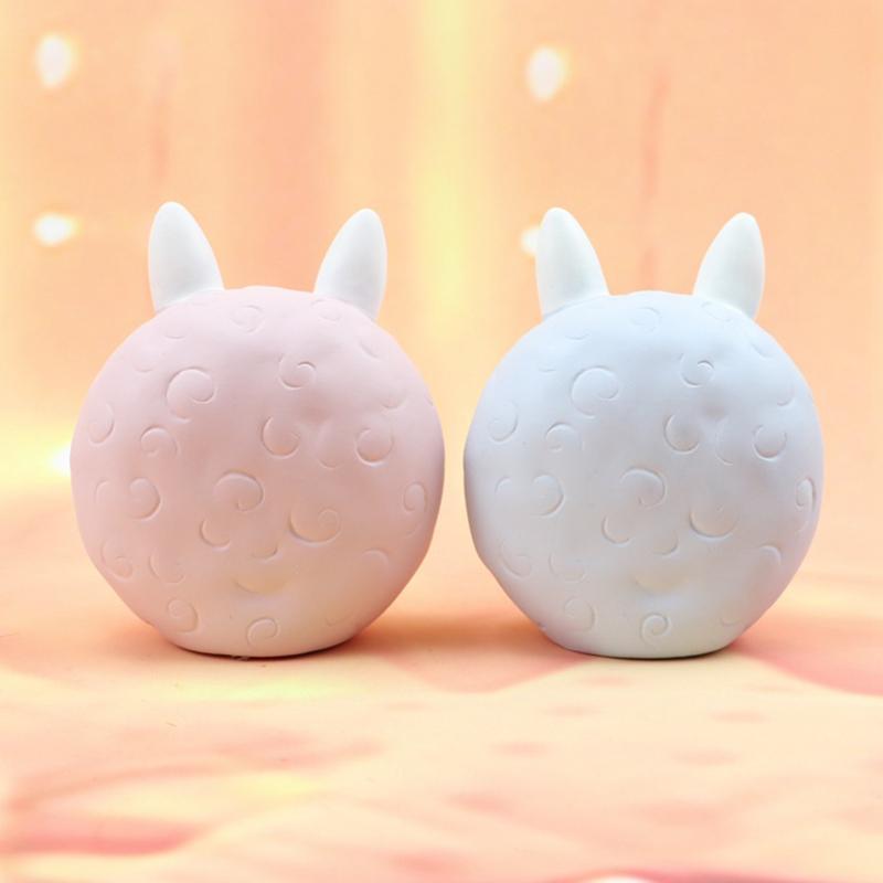 Cute kawaii alpaca lamp (PINK) 7