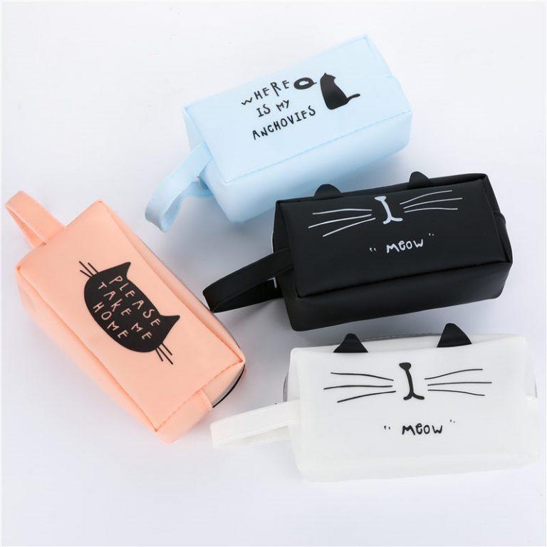Super cute pen case.  Cat Lover item 2