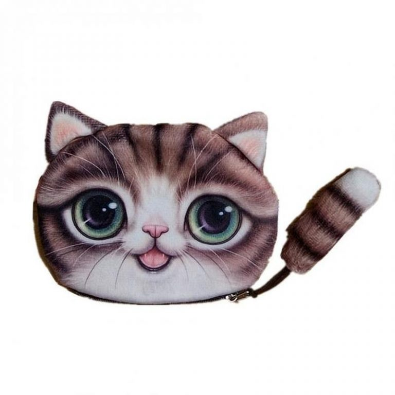 Kawaii wallet for cat lovers 3