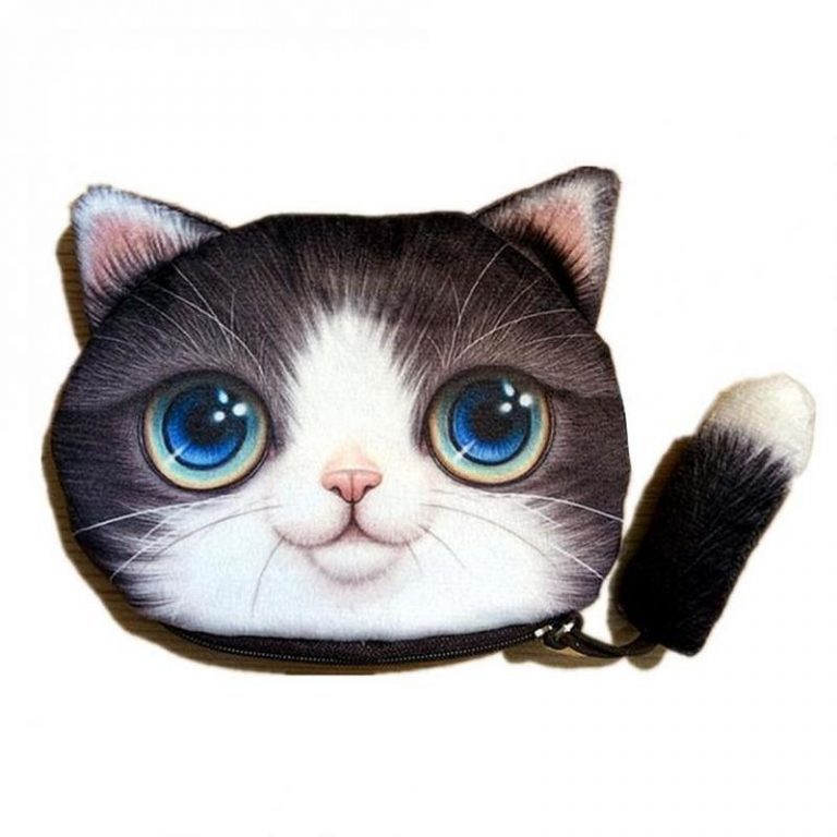Kawaii wallet for cat lovers 4