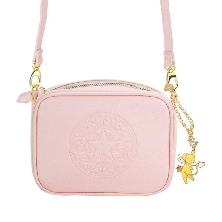 Precioso bolso de mano de Card Captor Sakura color rosa palo 2