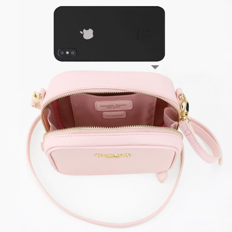 Precioso bolso de mano de Card Captor Sakura color rosa palo 3