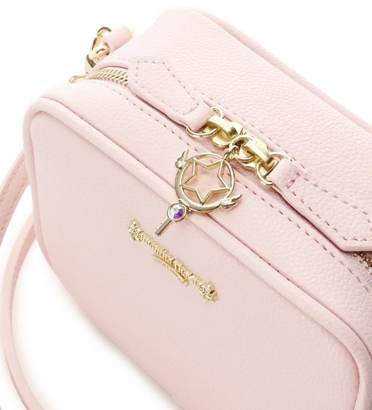 Precioso bolso de mano de Card Captor Sakura color rosa palo 4