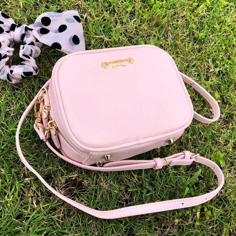 Precioso bolso de mano de Card Captor Sakura color rosa palo 5