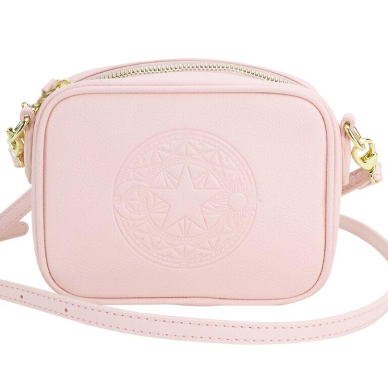 Precioso bolso de mano de Card Captor Sakura color rosa palo 1