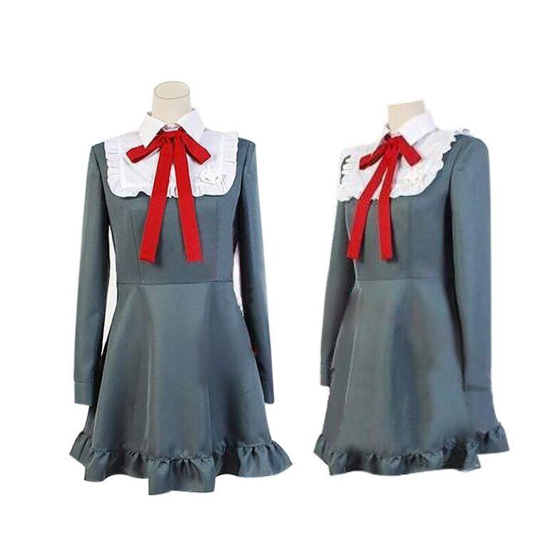 Vestido de cosplay Monaca Towa del juego Danganropa 2
