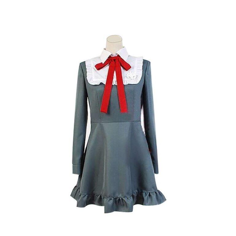 Vestido de cosplay Monaca Towa del juego Danganropa 3