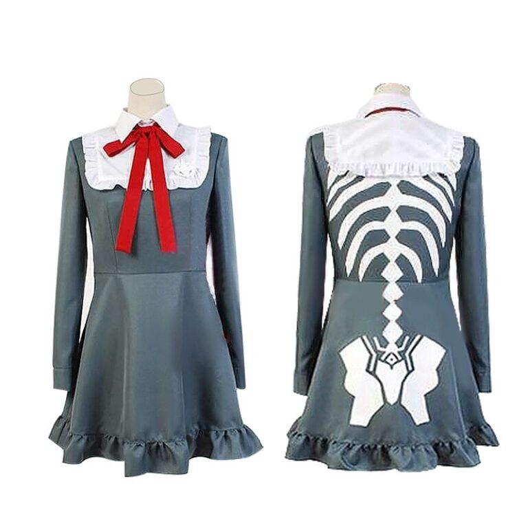 Vestido de cosplay Monaca Towa del juego Danganropa 1