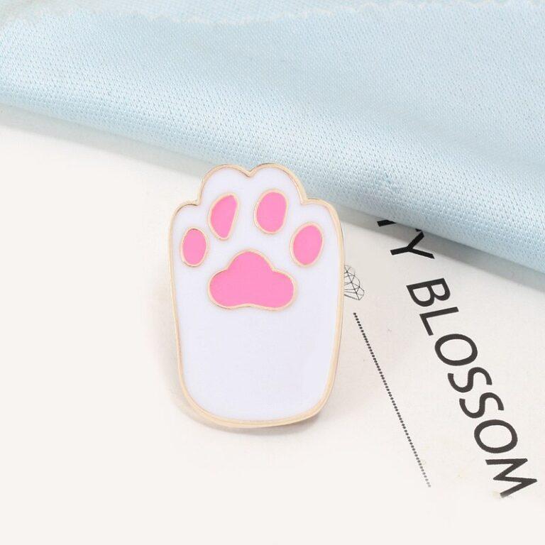 Broche de pata de gatito 3