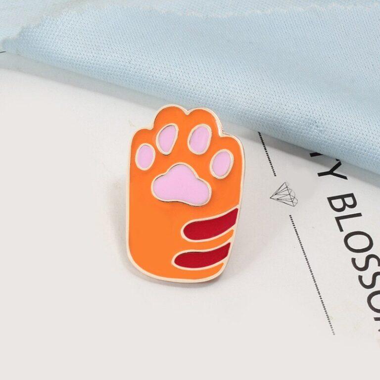 Broche de pata de gatito 4