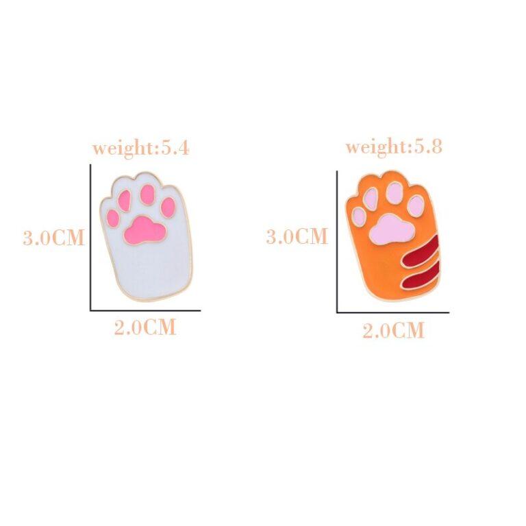 Broche de pata de gatito 6