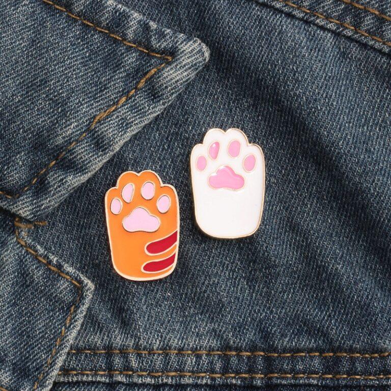 Broche de pata de gatito 1