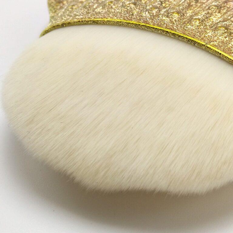 Brocha de maquillaje profesional de sirena, 1 ud., cola de pescado en polvo, herramientas cosméticas, brocha para esculpir 5