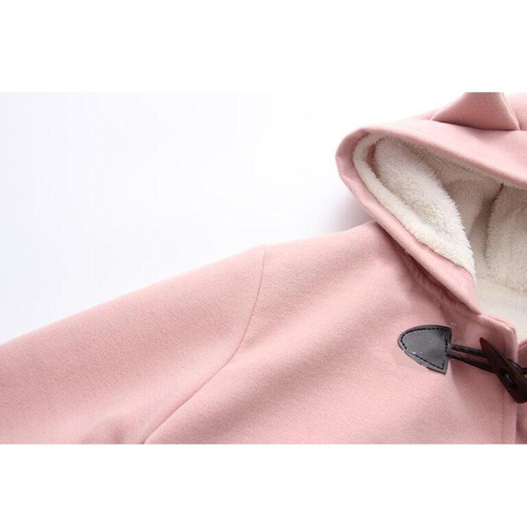 Chaqueta rosa kawaii 4