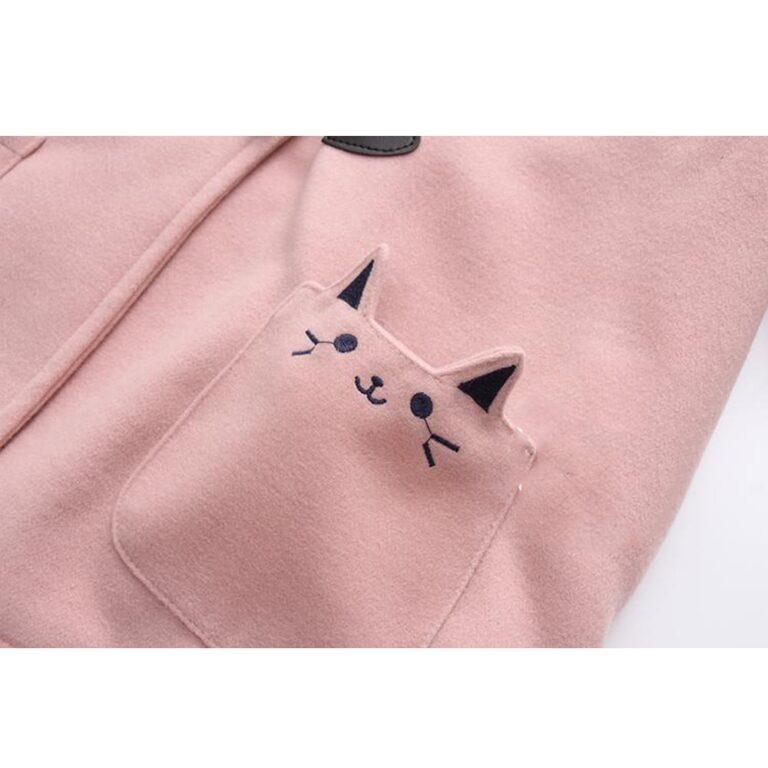 Chaqueta rosa kawaii 5