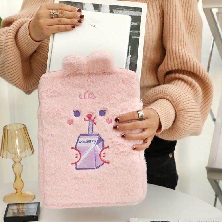 Tablet kılıf laptop saklama çantası Mac Ipad pro 9.7 11 13 inç karikatür tost kedi kollu astar çanta öğrenci kızlar 17