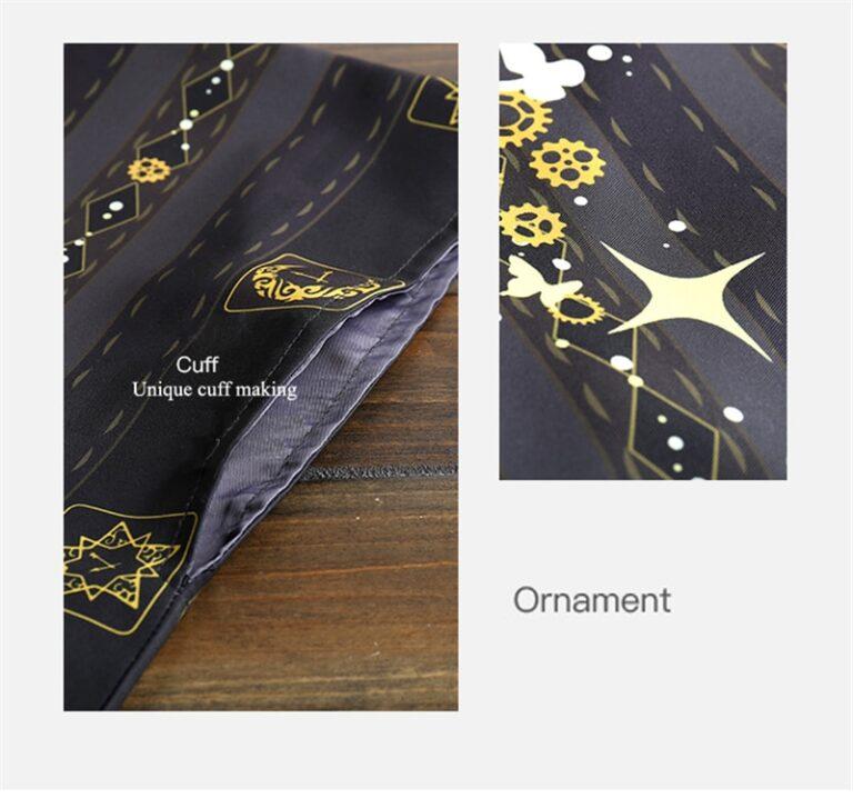 Kimono negro y dorado 11