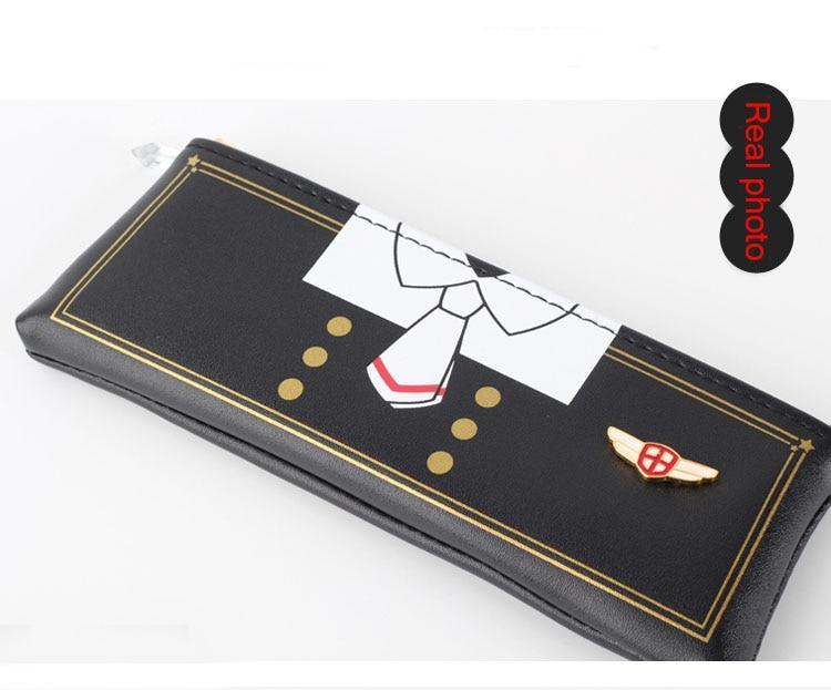 Sakura-estuche transparente para guardar tarjetas, estuche para guardar tarjetas, porta tarjetas 11
