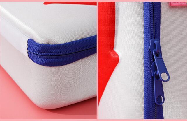 Sailor Moon-Bolso de hombro para chica, bolsa de maquillaje de gran capacidad para Cosplay, bolso de cosméticos, bolsa de viaje, regalo de Navidad 6
