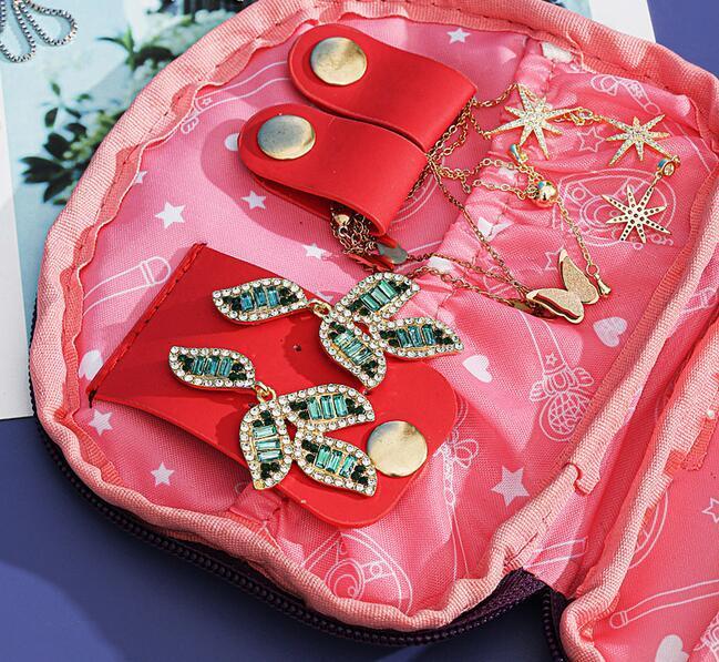 Sailor Moon-bolsa para guardar joyas de gato y Luna, bolsa de maquillaje de gran capacidad, para viaje, regalo de Navidad para chica 2